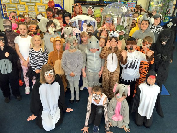 Lynn's Howard Junior School takes a trip on the wild side