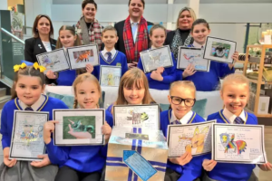 National joy for Howard Junior School
