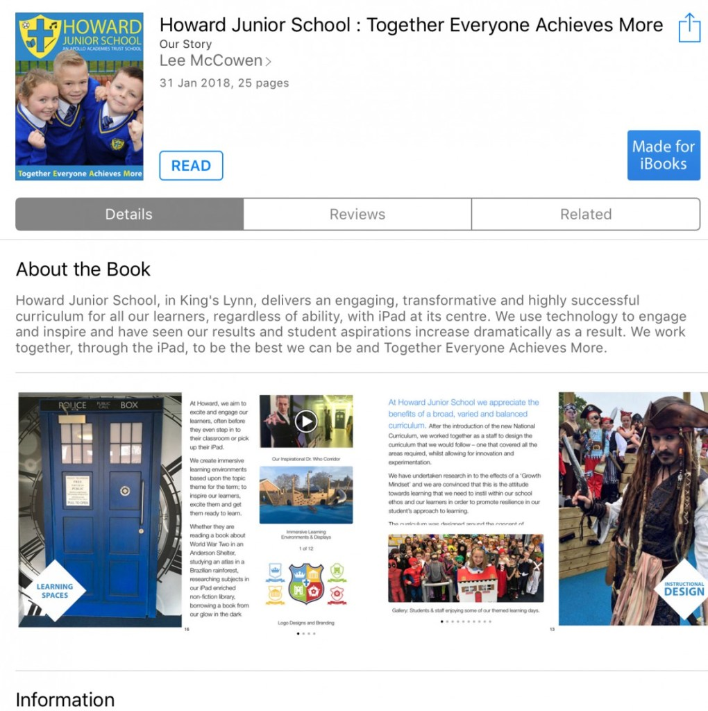 Download our FREE Book from the iBooks Store!