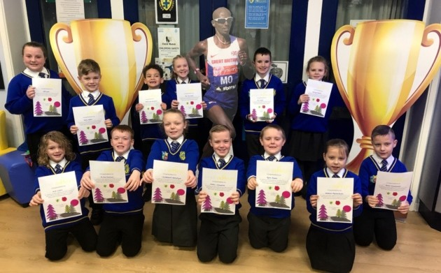 Pupils sprint towards rewards for Parkrun