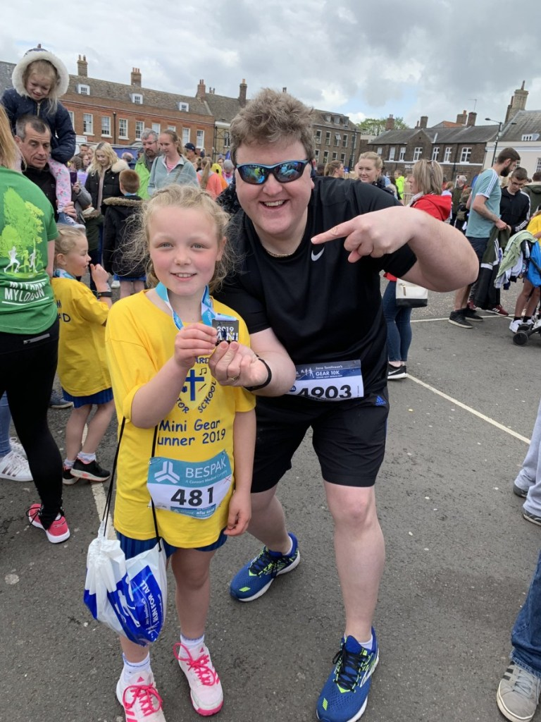 Howard pupils encouraged to keep fit and healthy