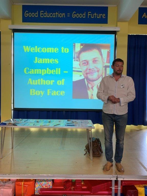 James Campbell Visit