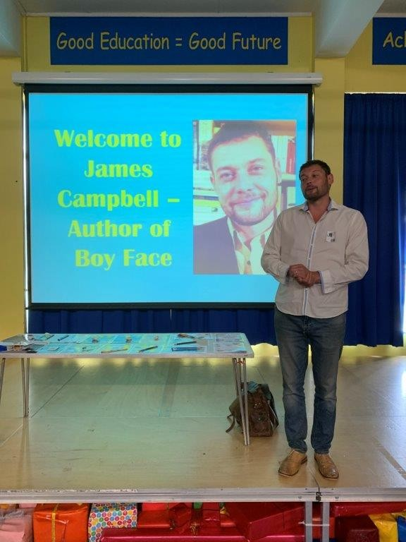 James Campbell Visit