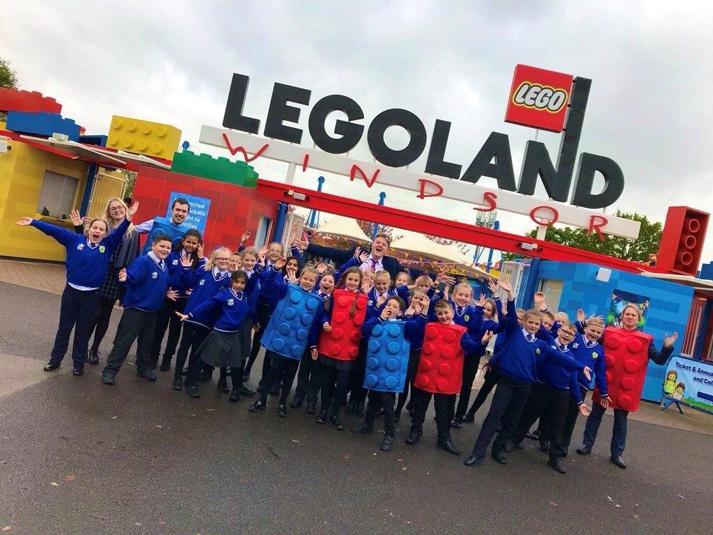 VIP visit to Legoland