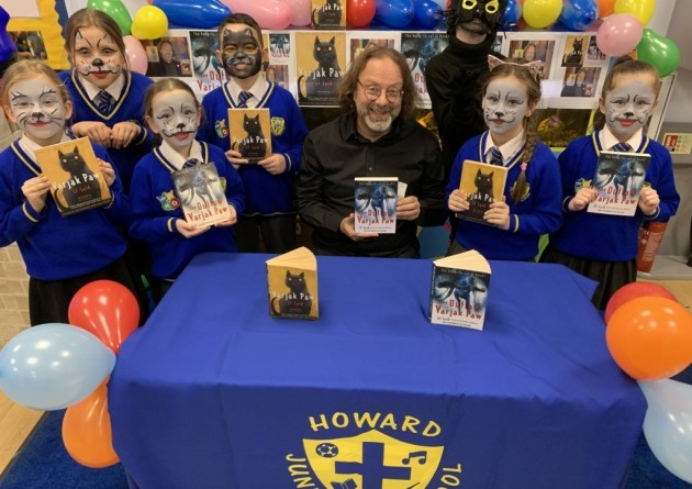 'It was amazing' - Award-winning author visits children inspired by his book