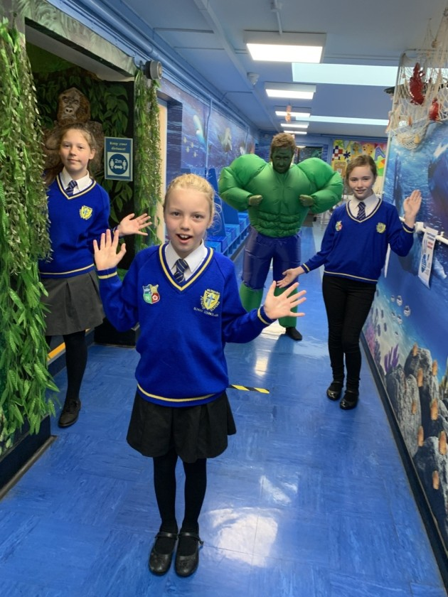 Pupils hailed as 'superheroes' after first week back in the classroom