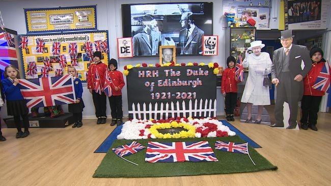 Howard Junior School remembers Prince Philip