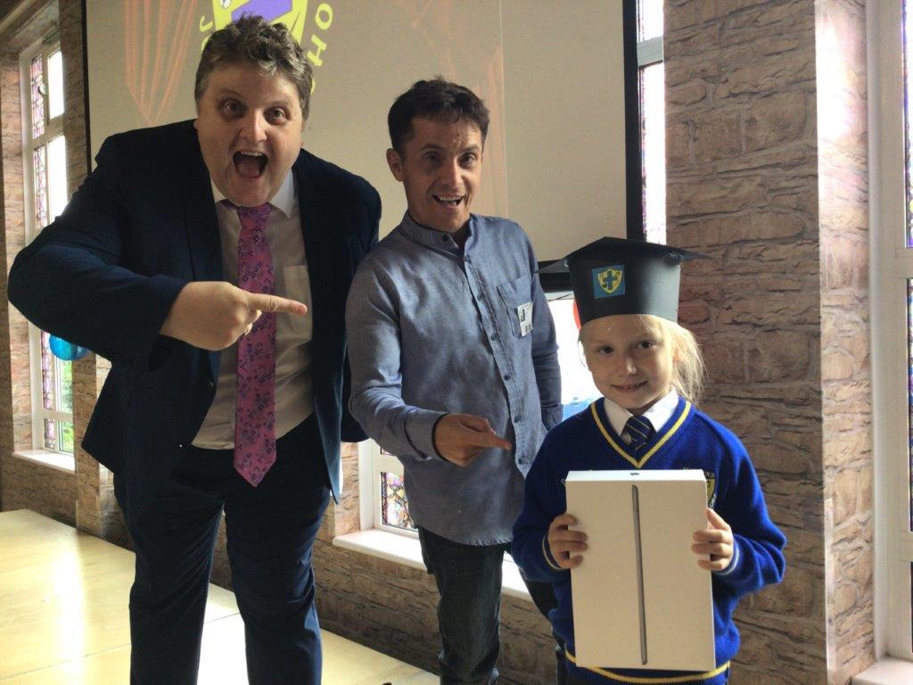 iPad Graduation Ceremony 2021