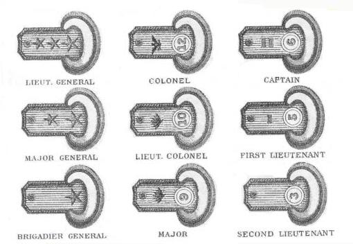 U.S. Army Regulations Illustration: Link 70 Epaulette
