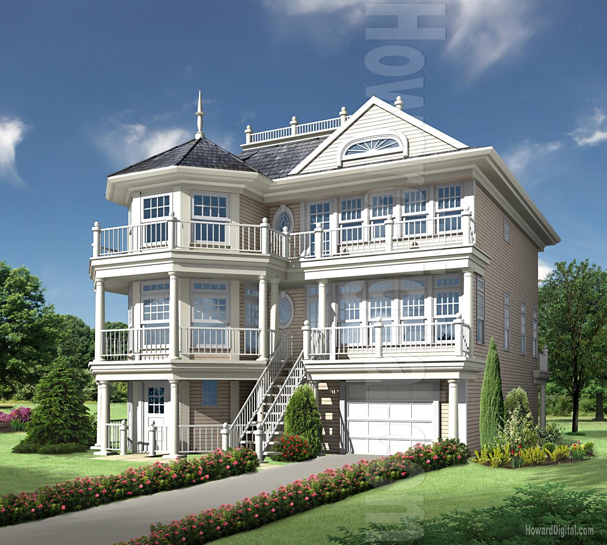 House Rendering Gallery By Howard Digital  Premium House