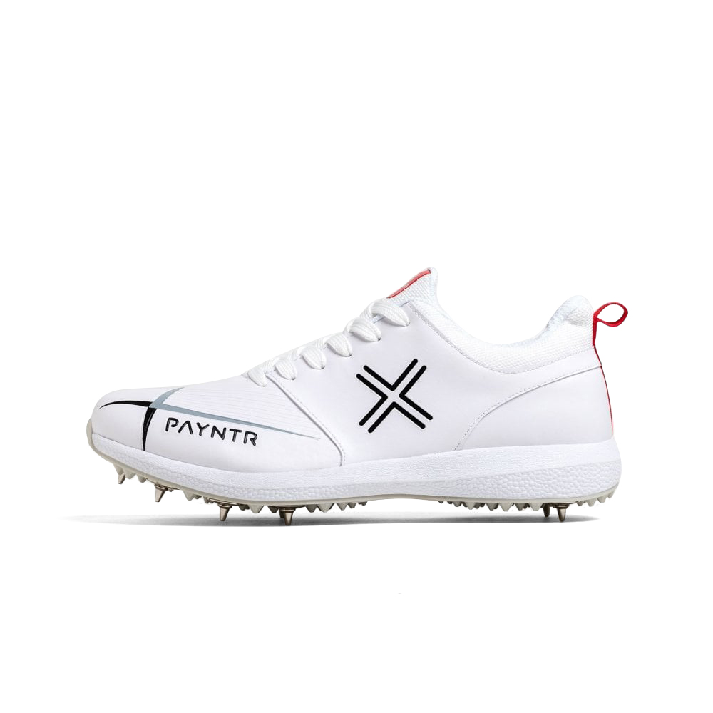 PAYNTR V Spike Classic White Trainers