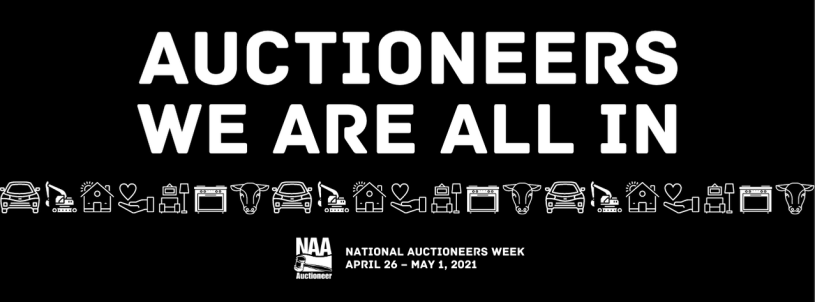 national auctioneers week 2021 graphic