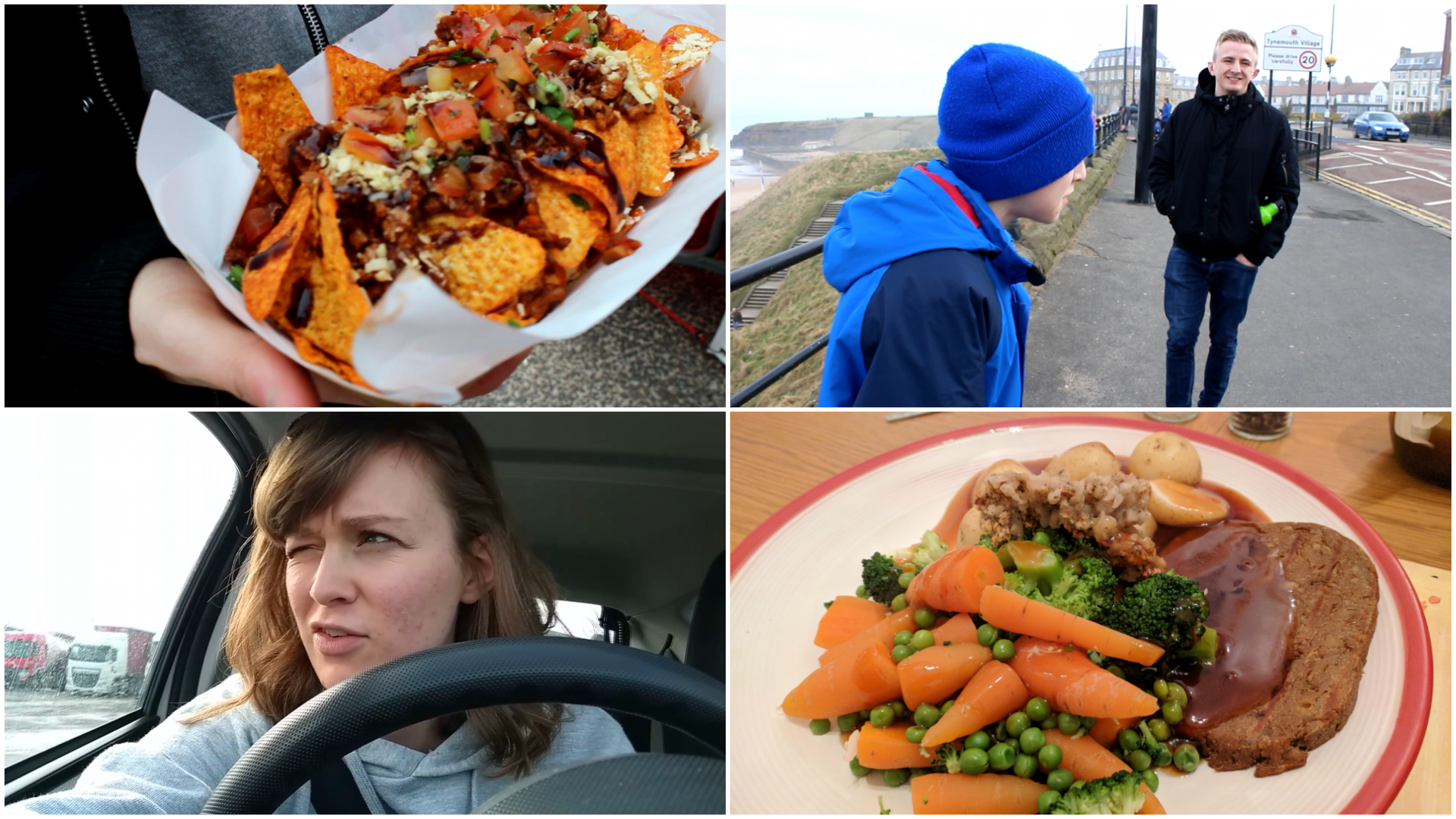 Weekend Vlog #1 | Road Trips & Coastal Walks