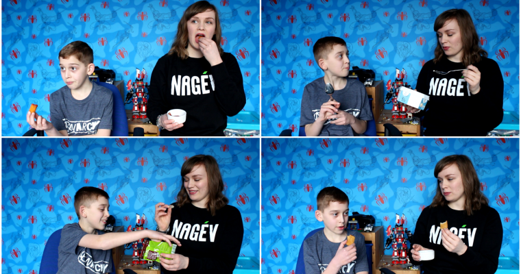 VIDEO: Trying Vegan Junk Food With My 10-Year-Old Nephew