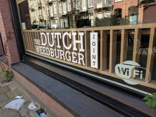 Dutch weed burger joint