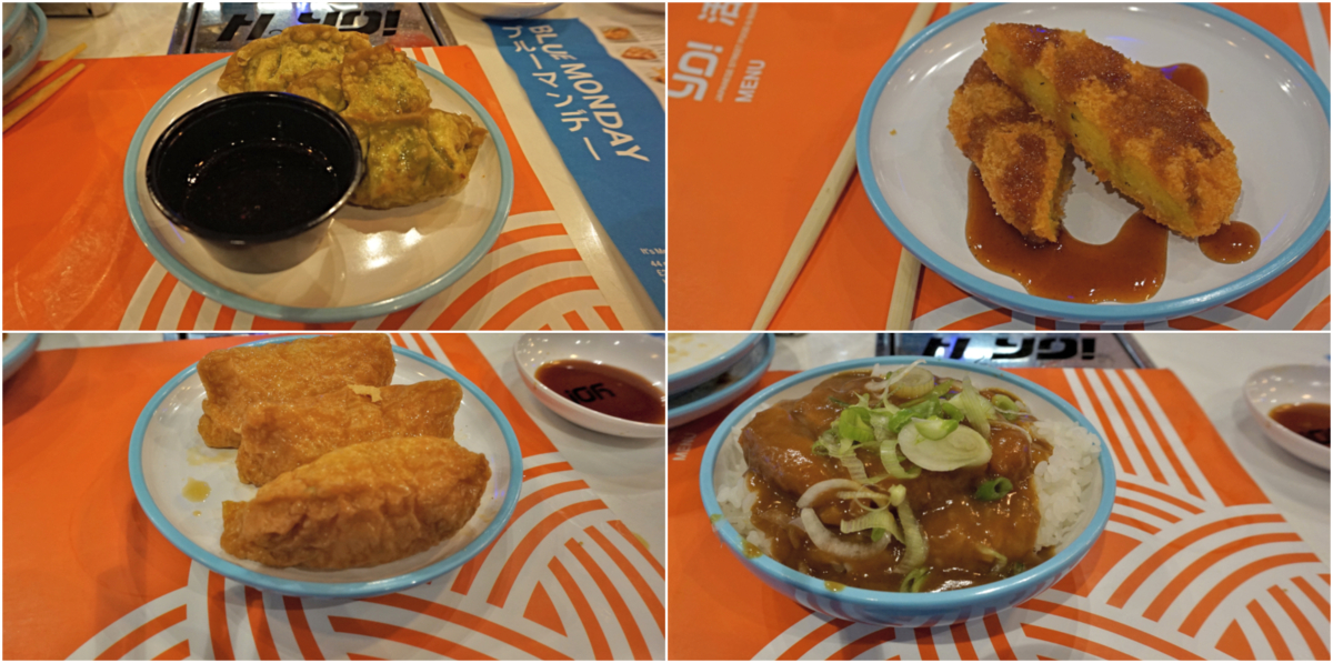 Yo Sushi Blue Mondays – Vegan Menu (June 2018)