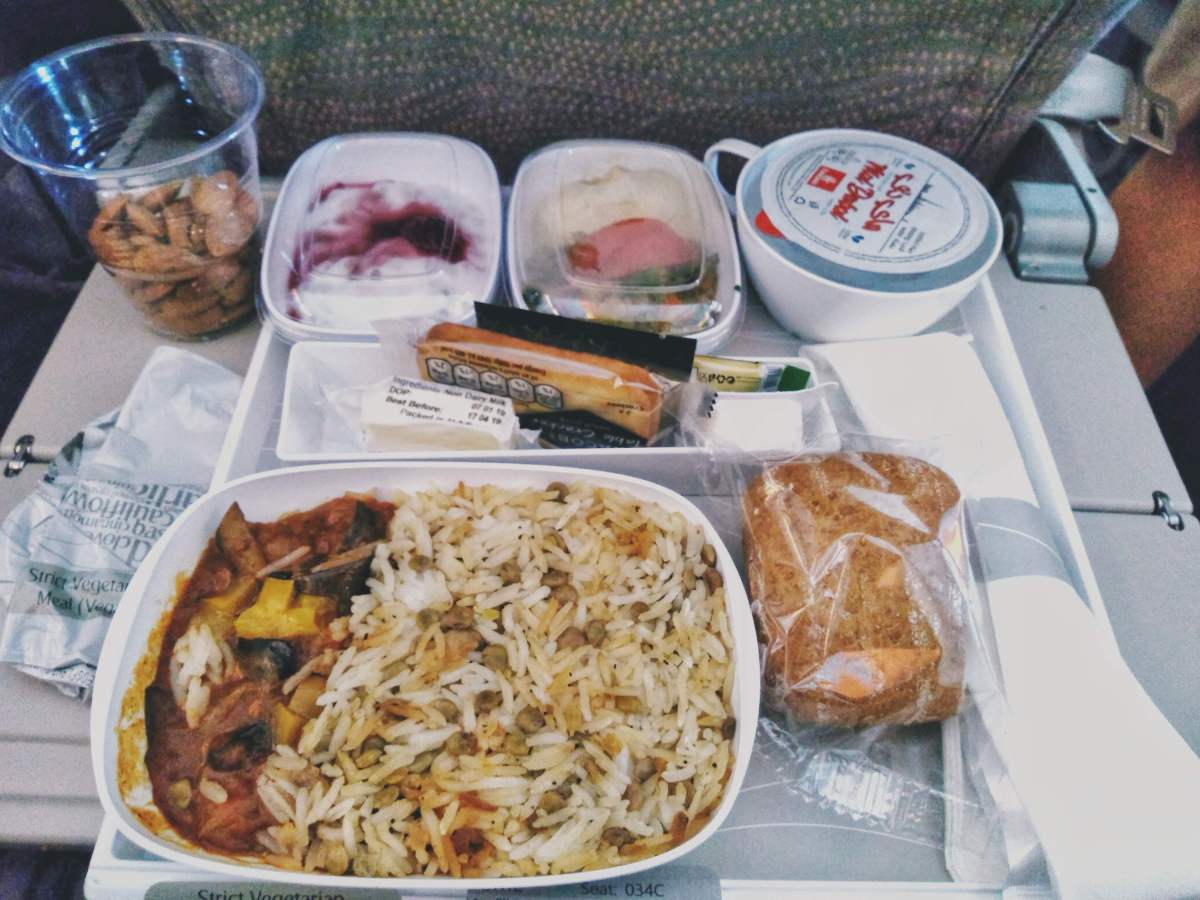 emirates vegan meal
