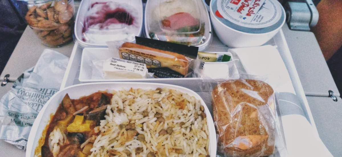 Emirates Vegan Meal Review