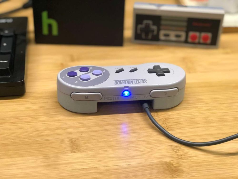 medium resolution of a raspberry pi in an snes controller