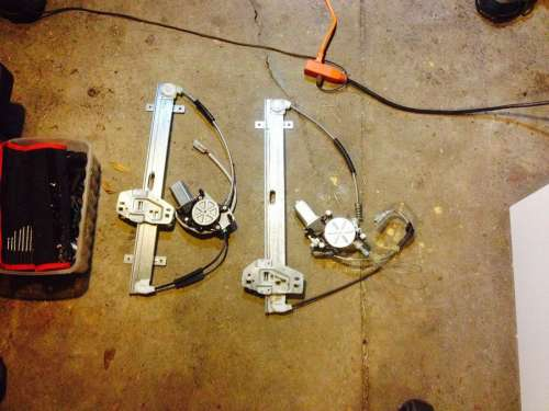 small resolution of power window motor regulator replacement honda element