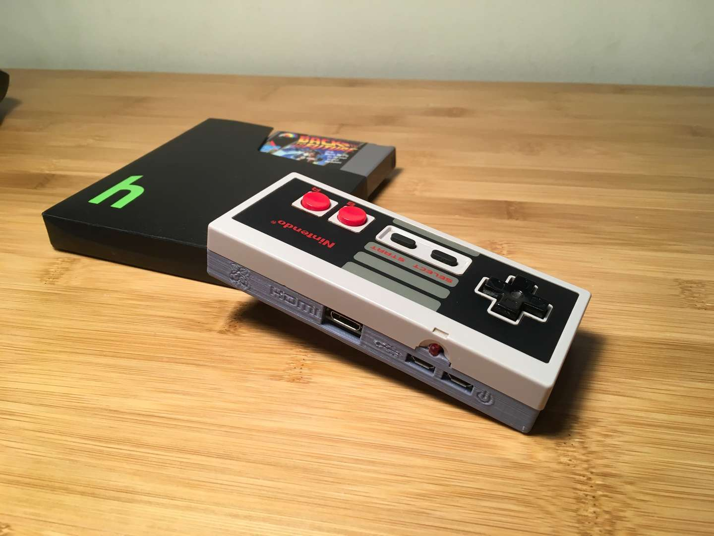 hight resolution of completed gamepad zero raspberry pi in nes controller