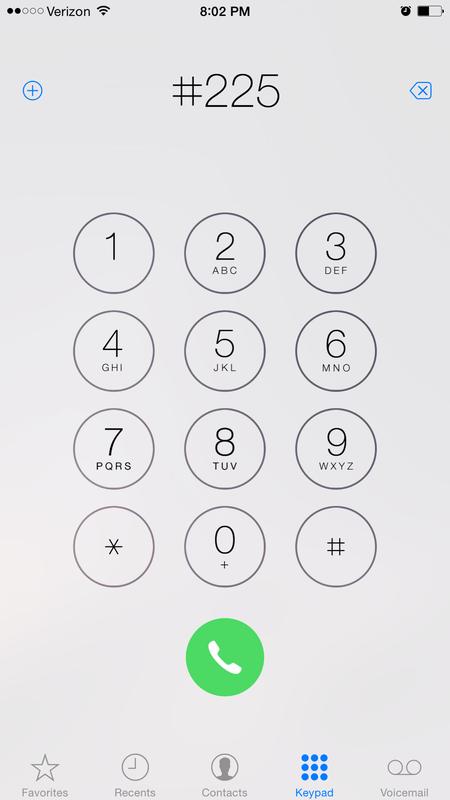 Check the balance on your Verizon wireless account via
