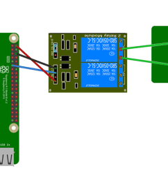 raspberry pi garage door opener wiring diagram [ 1440 x 720 Pixel ]