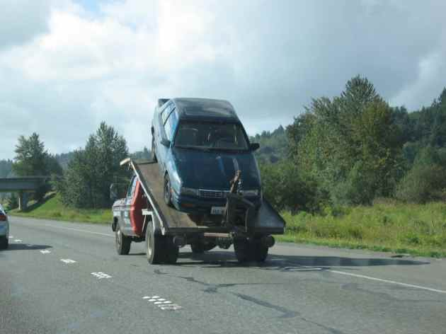 Car towing image - Cost summary