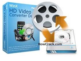 WinX HD Video Converter Deluxe 5.12.1 Crack + License Code [Here]