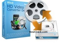 WinX HD Video Converter Deluxe License Code Cracked