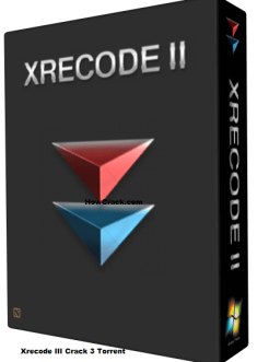 Xrecode III Crack 3 Crack full Torrent