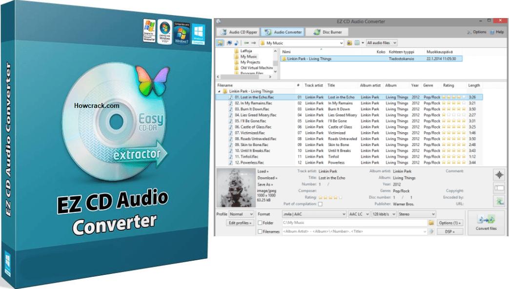 EZ CD Audio Converter Crack Full Keys