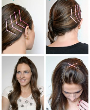 Latest Hairstyle Cute Bobby Pin Hairstyles Inspiring Photos Of