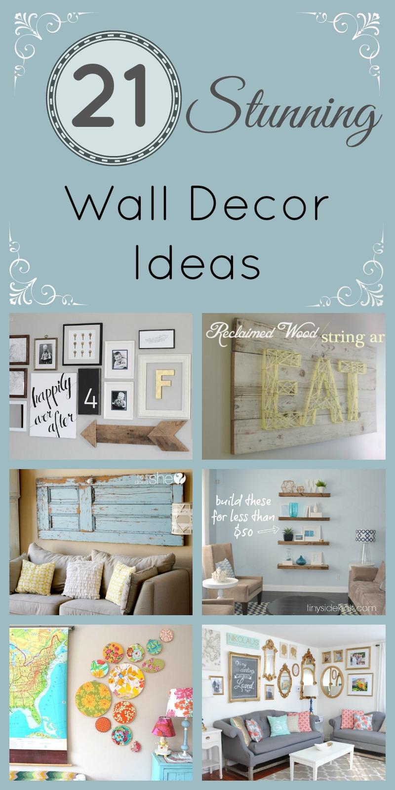 21 Stunning Wall Decor Ideas