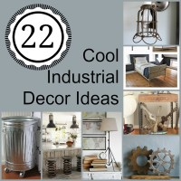 22 Cool Industrial Decor Ideas   How Does She