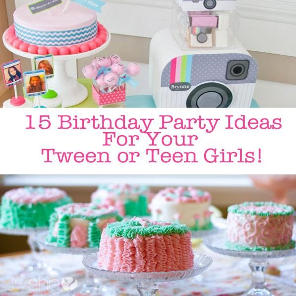15 teen birthday party ideas for teen