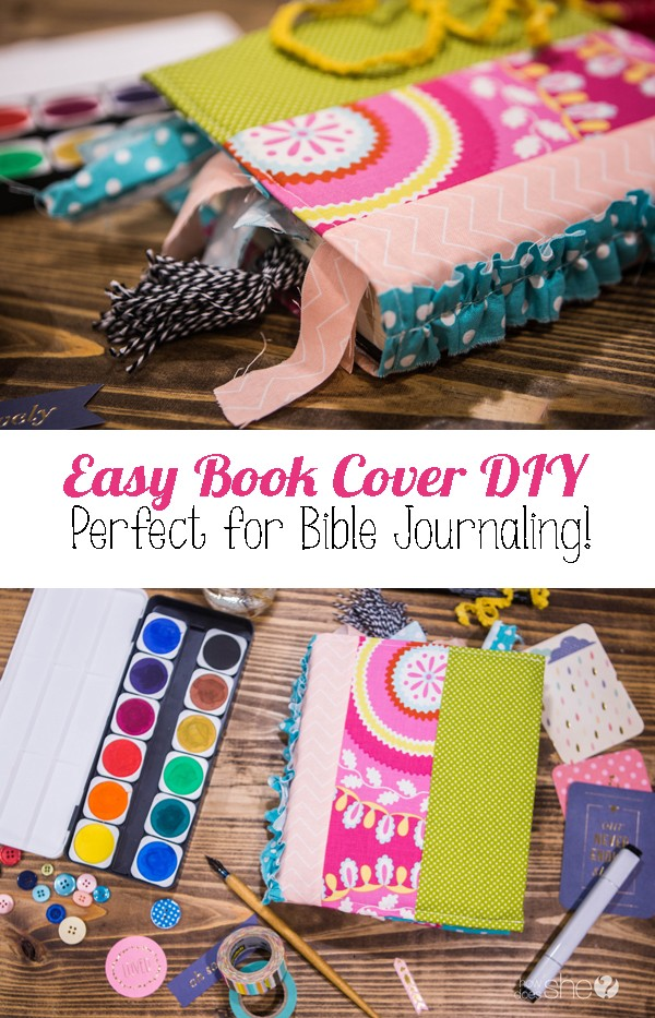 DIY Bible Cover Free Pattern! Customize for different