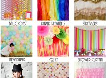 25 Drop Dead Gorgeous DIY Photo Backdrops | How Does She