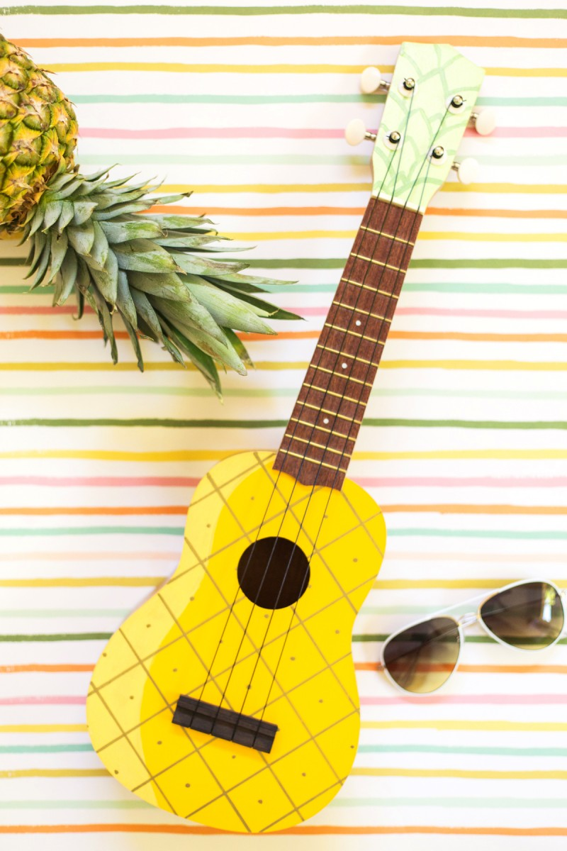 Cute Ukulele Wallpaper Trending Pineapple Ideas That Transport You To A Tropical