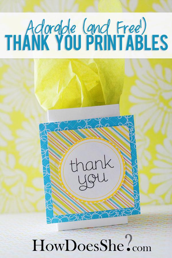 Thank You Gift Ideas