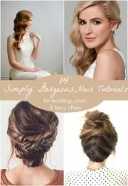 simply gorgeous hair tutorials