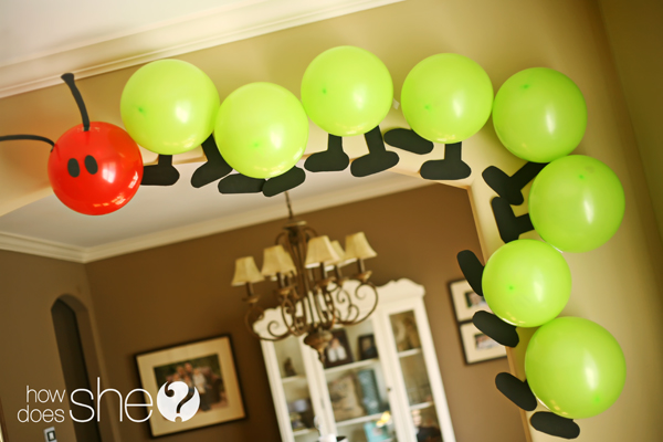 The Very Hungry Caterpillar Party & Personalized Products