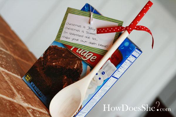 Brownies For Christmas Gift