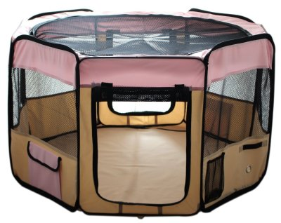 Best Dog Playpen By ESK COLLECTION Blue 45""