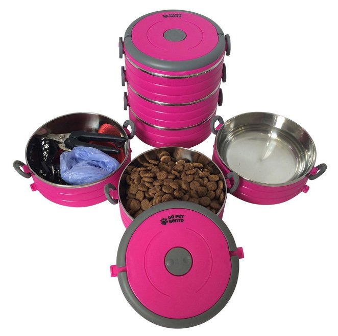 Stainless Steel Travel Dog Pet Bowl