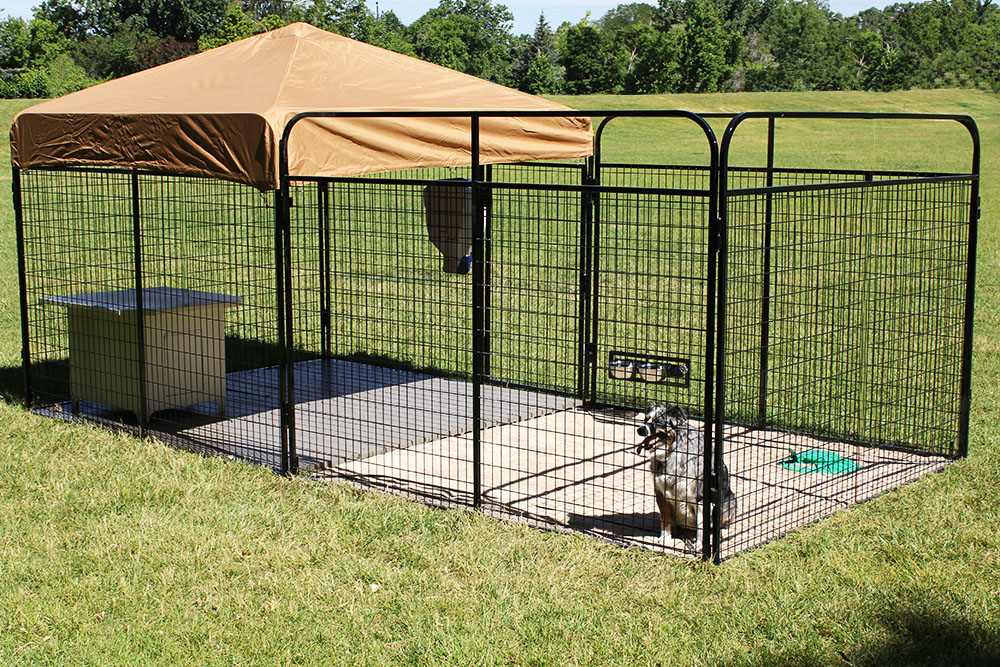 Outdoor Dog Kennel Best Outdoor Dog Kenne...