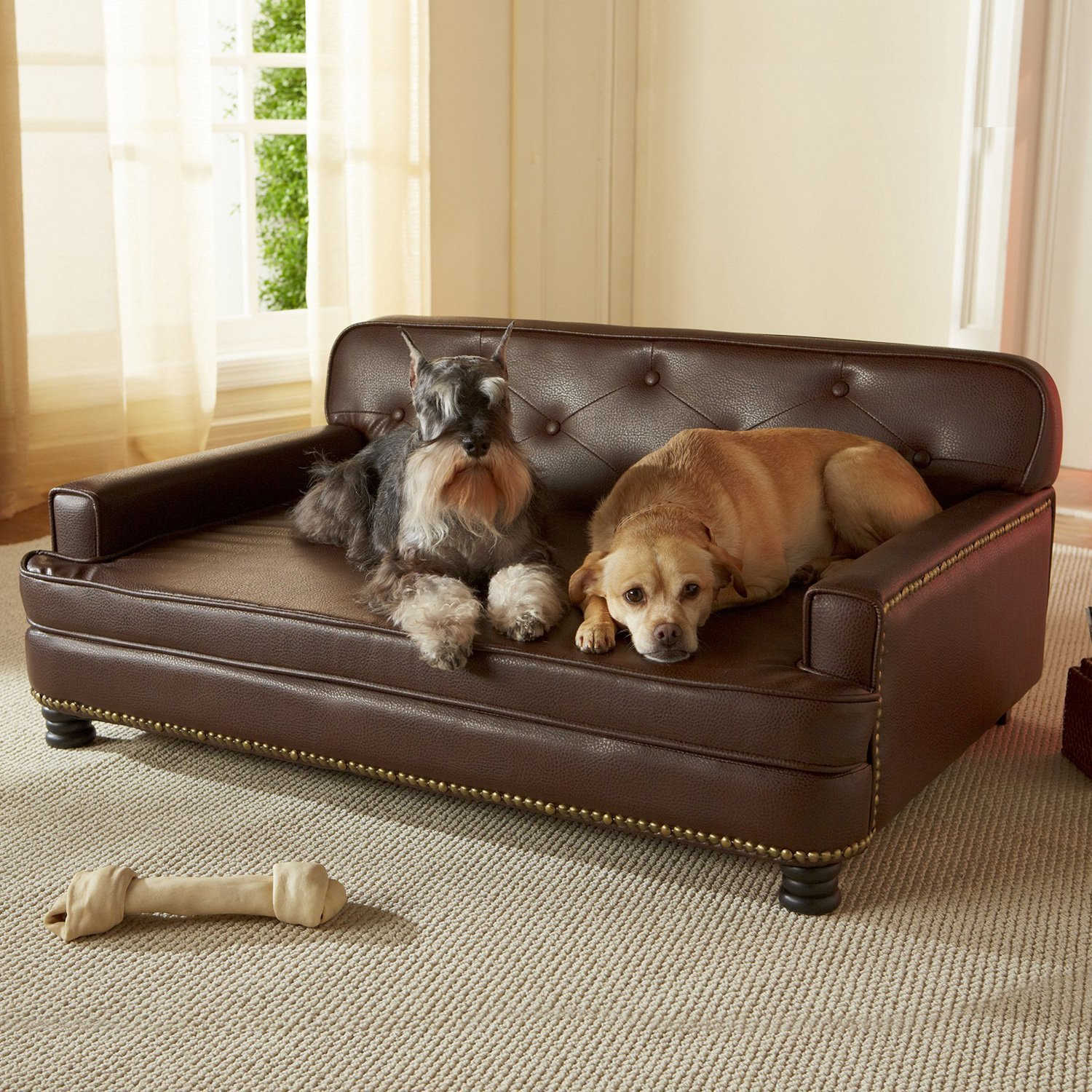 Perfect Best Leather Dog Beds