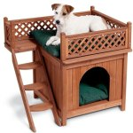 Merry Pet Wood Pet House For Small Dogs