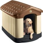 Tuff-N-Rugged Weather-Resistant Large Dog House By Pet Zone