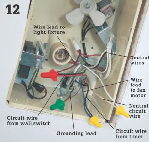 Bathroom vent fans